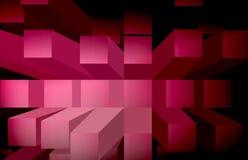 Achtergrond-rood blokken Stock Foto's