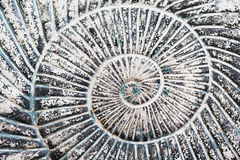 Achtergrond - spiraalvormige spiraalvormige steen Royalty-vrije Stock Afbeelding