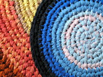 Achtergrond - textiel - crochet royalty-vrije stock fotografie