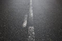 Achtergrond, textuur, asfalt, straattekens,  Royalty-vrije Stock Fotografie