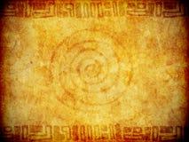 Achtergrond Textuur met Primitieve Noteringen Stock Afbeelding