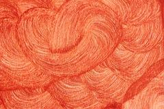 Achtergrond, Textuur Patronen bruine die verf op de muur door een grote borstel wordt toegepast stock afbeelding