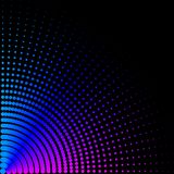 Achtergrond, textuur, samenvatting De gekleurde cirkels, ballen op een zwarte achtergrond is geïsoleerd royalty-vrije illustratie