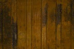 Achtergrond, textuur van een roestig dakwerkblad royalty-vrije stock fotografie