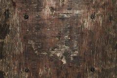 Achtergrond, textuur van het oude triplex, houten dekking stock foto's