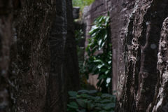 Achtergrond, textuur van natuursteen Royalty-vrije Stock Afbeelding
