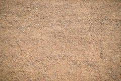 Achtergrond, textuur van zand, warme schaduw op het gehele kader Horizontaal kader Stock Afbeelding