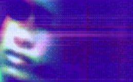 Achtergrond textuurontwerp in purple Stock Illustratie