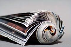 Achtergrond Tijdschrift Royalty-vrije Stock Foto's