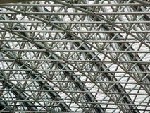 Achtergrond - a trellised dak Stock Foto's