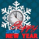 Achtergrond uit de wintersneeuwvlokken die wordt samengesteld Royalty-vrije Stock Foto's