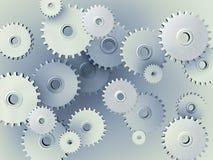 Achtergrond van 3D toestellen Stock Afbeelding
