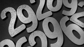 Achtergrond van aantallen van nul tot negen Achtergrond met aantallen Aantallentextuur Royalty-vrije Stock Afbeelding