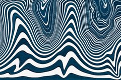 Achtergrond van Abstact de blauwe en witte golven Textuur met golvende, krommenlijnen Vloeibaar patroon vector illustratie