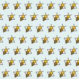 Achtergrond van abstracte bijen Royalty-vrije Stock Afbeelding