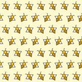 Achtergrond van abstracte bijen Stock Afbeelding