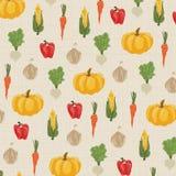 Achtergrond van abstracte groente Stock Illustratie