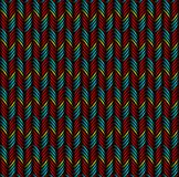 Achtergrond van abstracte kleurrijke cijfers vector illustratie