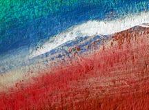 Achtergrond van abstracte verf op muur Stock Foto