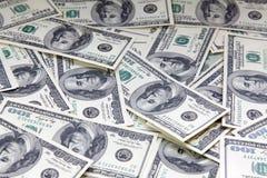 Achtergrond van Amerikaanse dollars Royalty-vrije Stock Foto