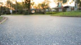 Achtergrond van asfalt Stock Afbeelding