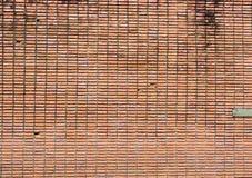 Achtergrond van bakstenen muur Stock Afbeelding