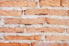 Achtergrond van bakstenen muur Royalty-vrije Stock Fotografie