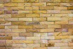 Achtergrond van bakstenen muurtextuur Stock Afbeeldingen