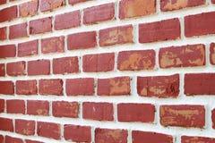 Achtergrond van bakstenen muurtextuur Stock Foto