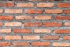 Achtergrond van bakstenen muurtextuur Royalty-vrije Stock Afbeelding