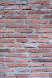 Achtergrond van bakstenen muurtextuur Stock Afbeelding