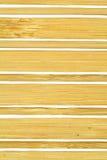 Achtergrond van bamboeplaten Stock Afbeelding