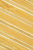 Achtergrond van bamboeplaten Stock Foto's