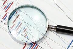 Achtergrond van bedrijfsgrafiek Royalty-vrije Stock Afbeelding