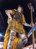 achtergrond van beeldhouwkunstmiddel ik hier Ao Nong Krabi Thailand was Royalty-vrije Stock Afbeelding
