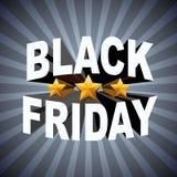 Achtergrond van Black Friday-verkoop Stock Afbeeldingen