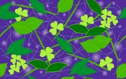 Achtergrond van bladeren Stock Afbeelding