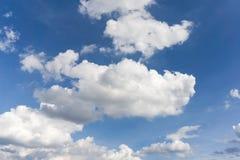 Achtergrond van blauwe hemel Royalty-vrije Stock Fotografie