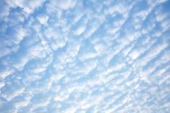 Achtergrond van blauwe hemel Royalty-vrije Stock Afbeelding
