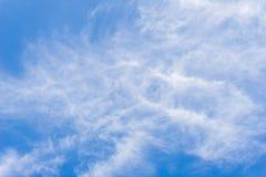 Achtergrond van blauwe hemel Royalty-vrije Stock Foto