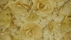 Achtergrond van bloemen stock footage