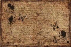 Achtergrond van brief Royalty-vrije Stock Afbeeldingen