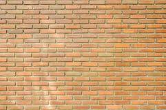 Achtergrond van bruine bakstenen muur Royalty-vrije Stock Fotografie