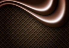 Achtergrond van chocoladewafeltjes Stock Foto