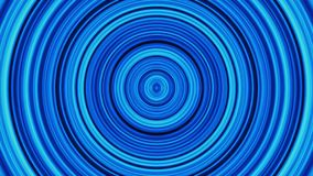 Achtergrond van cirkeldeeltjes, in warme gele tonen De samenvatting Geanimeerde Gloeiende Multistrepen en de Lijnen van Kleurenci stock illustratie