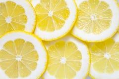 Achtergrond van citroen Stock Afbeelding