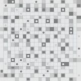 Achtergrond van controlepatroon in grijze toon Royalty-vrije Illustratie