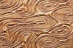 Achtergrond van 3D patroon op houten paneel Royalty-vrije Stock Foto's