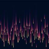Achtergrond van dalende sterren Kleurenregen Dalende lichten Vector illustratie Royalty-vrije Stock Afbeeldingen