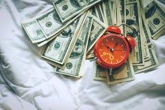 Achtergrond van de Amerikaanse dollar - Landschap samen Gelaagd in seve royalty-vrije stock afbeeldingen